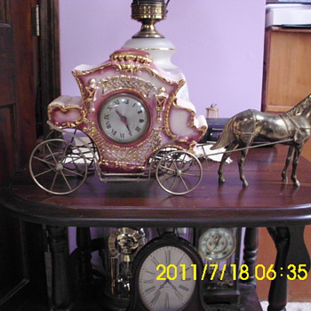 Sessions Horse & Carriage clock