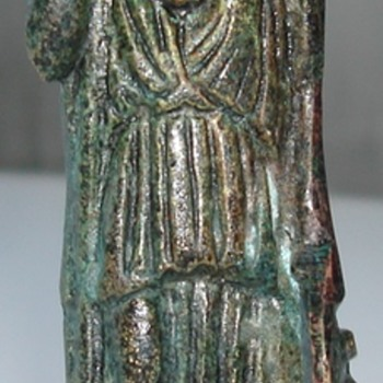 Greek or Roman Bronze figure