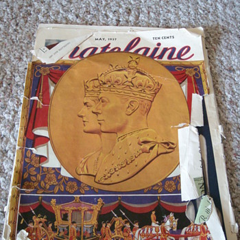 Chatelaine May 1937 Royals Edition - Paper