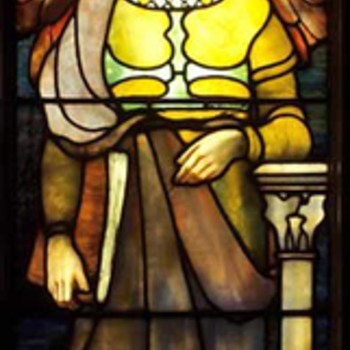 L.C.Tiffany Angel Windows @ Museum of Russian Icons. - Art Glass