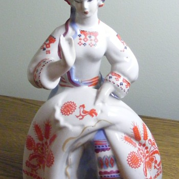 The Seamstress Polonne 1973-1991  - Figurines