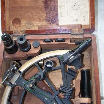 Byrd bubble sextant  - Military and Wartime