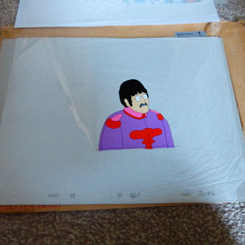 Yellow Submarine Cels - Movies