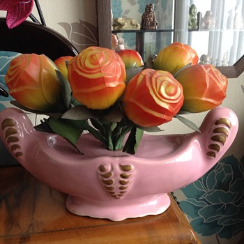 Antique Rose Vase Lamp - info req?