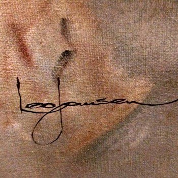Leo Jansen painting ! Playboy artist. - Visual Art