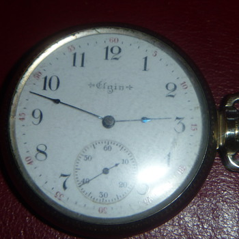 ELGIN SIDEWINDER - Pocket Watches