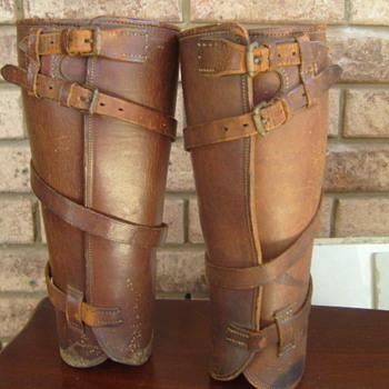 ww1 cavalry leather chaps ??