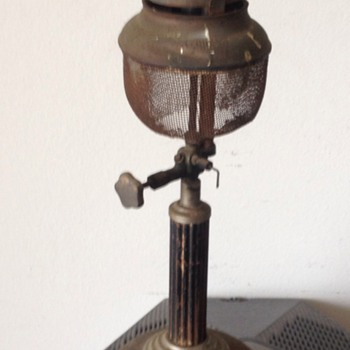 Antique Brass Coleman Protect-A-Lite Lantern - Sporting Goods