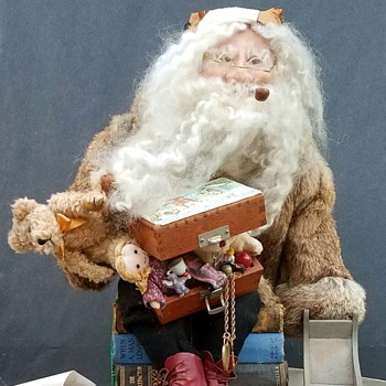 Stuffed Santa Claus doll