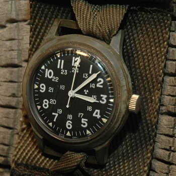 Militairy Timex watch - Wristwatches