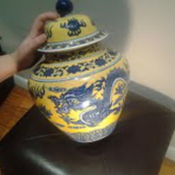 CHINESE VASES, SIGNED ON THE BOTTOM, I GOT THEM AT AN ESTATE SALE IN THE WESTERN SUBURBS OF CHICAGO....