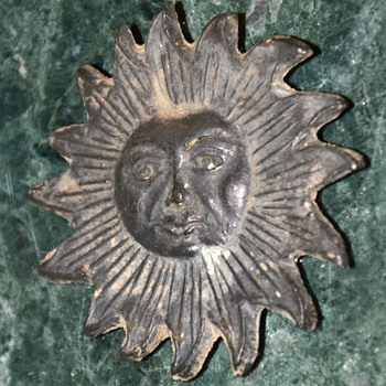 Lead or Zinc Sun - Victorian Era