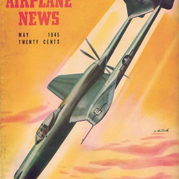 1945 - Model Airplane News magazine - May