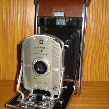 1957 Polaroid Land Camera Speedliner 95B  - Cameras