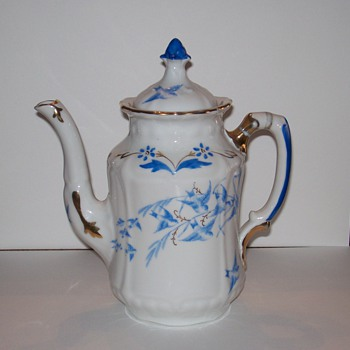 Rorstrand Porcelain Coffee Pot