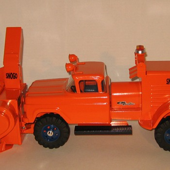 Custom-Built Nylint SNOGO truck-mounted Snowblower