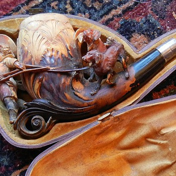 My great-grandfather's meerschaum pipe - Tobacciana