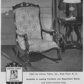 1950 Globe Furniture Advertisements
