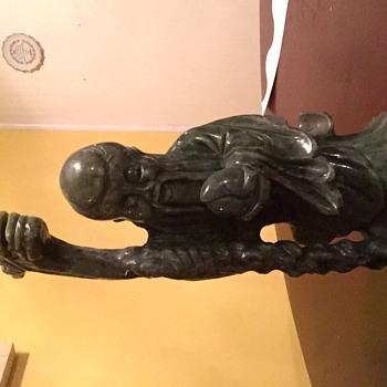 Jade statue???