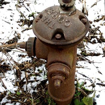 Circa 1919 Corey Fire Hydrant
