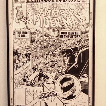 Amazing Spider-Man original cover art