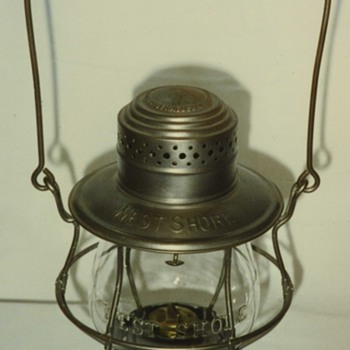 West Shore Railroad lantern