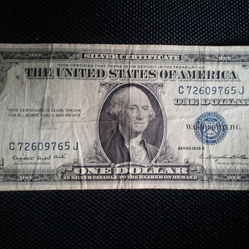 1935 G series  - US Paper Money