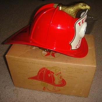 Texaco Fire Helmet - Toys