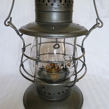 Delaware, Lackawanna & Western Railroad Lantern