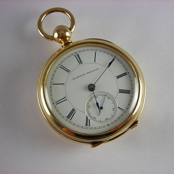Antique Hampden Lafayette Pocket Watch - Pocket Watches