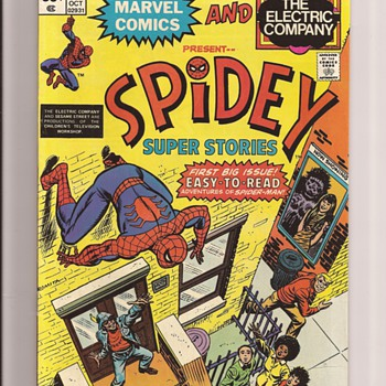 First issue fun - Comic Books