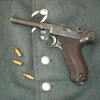 WWII Era German Luger Pistol