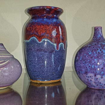 I'm loving the color's. .....more pottery