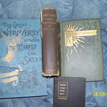 ben-her 1880 controversy christ/satin - Books