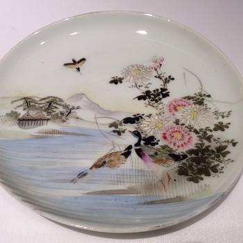 Japanese saucer