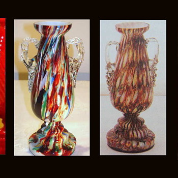 "Welz ""Victorian"" Style Production - The Clear Path To An Attribution....... - Art Glass"