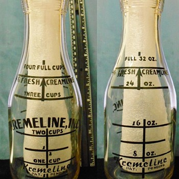 Kremeline Milk Bottle