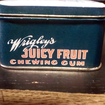 Juicy Fruit Tin - Advertising