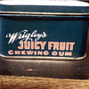 Juicy Fruit Tin