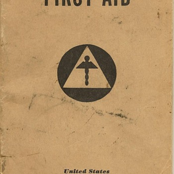 World War II First Aid Handbook (U.S. Office of Civilian Defense) - Books