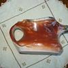 Antelope porcelain creamer