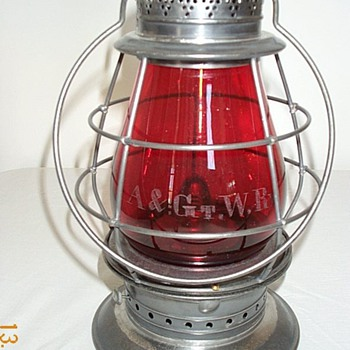 Atlantic &amp; Great Western Railroad Lantern