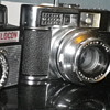 Three Film Cameras Vintage retro designs found this afternoon in Carmarthen, West Wales UK