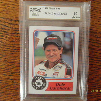 Dale Earnhardt Rookie Card 1988 Maxx#99 - Model Cars