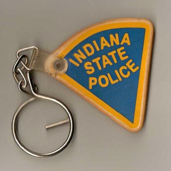 Indiana State Police Keyring Fob