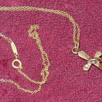 Antique Tiffany & Co Cross Necklace - Fine Jewelry