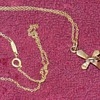 Antique Tiffany & Co Cross Necklace