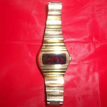 Hamilton QTC (Quartz Time Computer) model 999 watch - Wristwatches