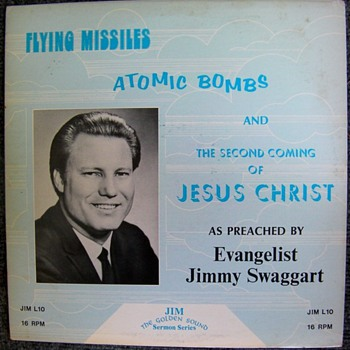 Flying Missiles, Atomic Bombs and the Second Coming of Jesus Christ