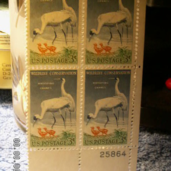 1957 Wildlife Conservation 3¢ Stamp